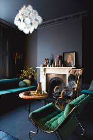 best 25 black walls ideas on blue living room