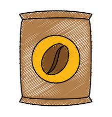 Coffee Sack Isolated Icon Vector