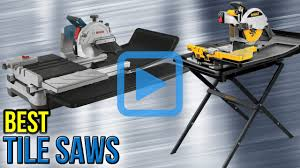 Dewalt Tile Saw Water Pump by Top 6 Tile Saws Of 2017 Video Review
