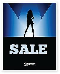Fashion Show Sale Poster Template 03788 Art Entertainment PoweredTemplate