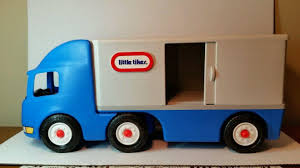 Little Tikes 18 Wheeler Truck Ride On Tractor Trailer Semi Child ...