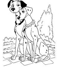 Les 101 Dalmatiens 128 Films Danimation Coloriages à Imprimer