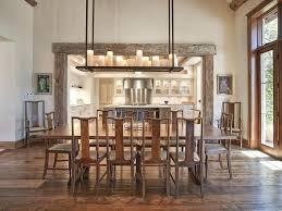 Dining Area Lighting Great Rustic Room Chandeliers Lights Pendant