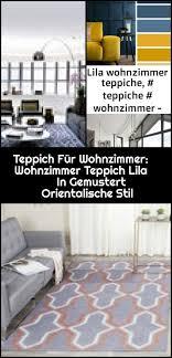 teppich für wohnzimmer wohnzimmer teppich lila in gemustert