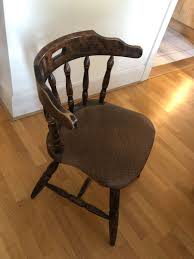 Oak Table & Chairs In TN4 Wells For £75.00 For Sale | Shpock Solid Peroba De Rosa Heavy Wood Rocking Chair Fniture Fascating Amish Chairs With Interesting Bz Kd20n Classic Wooden Childs Porch Rocker Natural Oak Ages 37 Lovely American Vintage Oak Antique Dexter Ash Duty Used For Sale Chairish Bent Style Jack Post Childrens Patio Of America Oria Brown Hardwood Michigan State