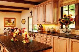 Mexican Kitchen Decorating Ideas Rustic Cabinets