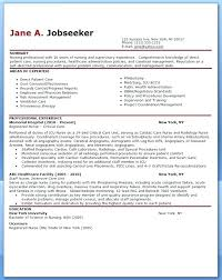 Nurse Resume Sample New Graduate Nursing For Template Examples Of Resumes