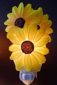 Bless Our Home Sunflower Blessings Wall Floral Country Art Kitchen