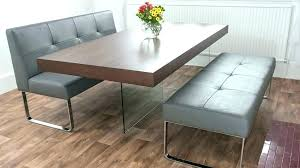 Dining Table Bench With Back Room Creative