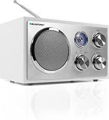 blaupunkt rxn 19 wh küchenradio ukw fm retroradio kleines radio fürs badezimmer usb port 2 0 sd kartenleser leichte bedienung analog tuner