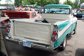File:57 Dodge 100 Sweptside Pick-Up.jpg - Wikimedia Commons 1957 Dodge Pickup Truck Youtube 1316 Dodge Ram 1500 Rear Bumper W Led Nettivaraosa 57 2008 Hemi Car Spare Parts D100 Sweptside Pickup F1301 Kissimmee 2017 3500 1996 For Mudrunner Used Parts 2003 Quad Cab 4x4 47l V8 45rfe Auto Sale Classiccarscom Cc1143576 Truck Realworld Classic Trucking Hot Rod Network 4 Sale Resort Collector Cars And Trucks C Series Wikipedia Unfinished Business Truckin Magazine