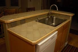 kitchen ceramic tile countertops add and personality to a