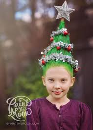 How To Do Crazy Hair In A Christmas Tree