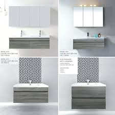 wall hanging bathroom cabinet designer style silhouette basin and