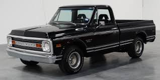 1969 Chevrolet C10 461 Miles Black Truck 396 CID V8 3-Speed ... 1969 Chevrolet Ck 10 For Sale On Classiccarscom C10 Gets An Oemstyle Radio Back Next Gen Audio Pickup Short Bed Fleet Side Stock 819107 Truck Sale Chevy With Intro Wheels 22 And 24x15 Slamily Reunion Classic 4438 Dyler 1969evletc10chromearbumperjpg 20481340 Auto Art 1955 All Stepside Old Photos Volo Museum Cst Texas In Arkansas Truck Guy Ol Blue Photo Image Gallery