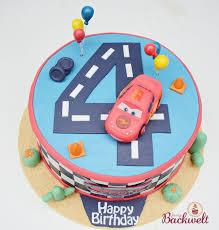 eine cars torte zum 4 geburtstag jennys backwelt