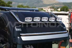 ROOF LIGHT BAR LONG VERSION | Volvo FH4 | Acitoinox | Truck Parts ...