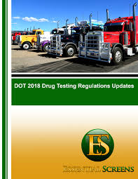 DOT Drug Testing Regulations – 2018 - Essential Screens Cdl Truck Team Driver Pros And Cons Fmcsa Dot Regulations E Log Vehicle Accident Invesgation File Packet Report On Dot Significant Rulemakings Glostone Trucking So Glostonets Twitter Funny Shirt Giftth Teehelen Free Forms Product Categories Safety Plus Alaska State Shipping Regulations Limits Oversize Overweight Trailers Federal Lighting Equipment Location Requirements 3 Ways For Drivers To Unsafe Companies Cstruction Day Ppt Download National Highway Traffic Administration Wikipedia Dealing With Eld Mandate Could Quire A Law Change Tslncom