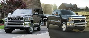 2016 Ram 2500 Vs 2016 Chevy Silverado 2500HD