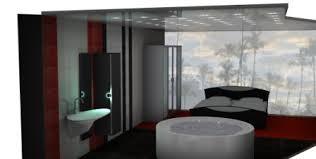 schlafzimmer mit bad kombiniert fliesen fieber