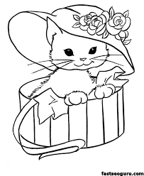 Free Coloring Pages Animals New Picture Printable Of