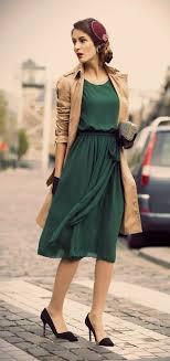 Elegant Vintage Outfit Idea