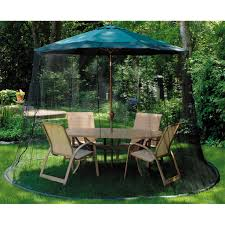 Square Patio Umbrella With Netting by Mosquito Netting For Patio Umbrella Patio Outdoor Decoration