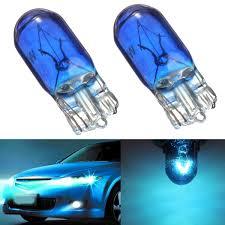 2x t10 168 w5w 5w halogen blue headl globe front parking