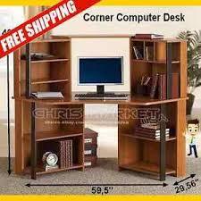 Ebay Corner Computer Desk by Computer Student Corner Desk Workstation Furniture Bedroom Office