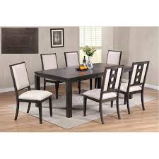 Contemporary Dining Room Sets Gray 5 Piece Set Modern Table Images