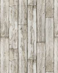Brewers Wallpaper Peeling Planks Birchwood