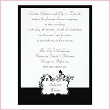 Classic Black And White Wedding Invitations Buy 106 Simple 16 5 Cm X 22