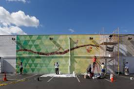 mural dedication bloom mural arts philadelphia mural arts