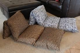 How to make a pillow chaise for children Grandma s Briefs
