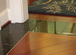 tile to hardwood floor transition strips tile flooring ideas