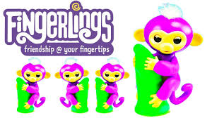 FINGERLINGS BABY MONKEY TOY REVIEW