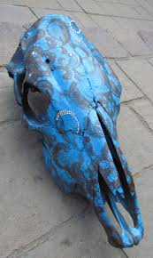 Decorated Cow Skulls Pinterest by 124 Best Skull Art Images On Pinterest Animal Skulls Skull Art
