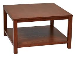 Office Star Merge 30 Square Coffee Table 4 Wood Finish Options
