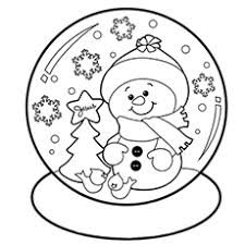 Free Coloring Pages Snowman Of Snowmen Funycoloring