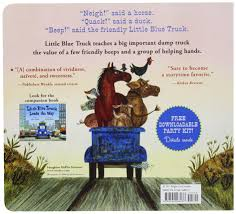 Little Blue Truck Board Book: Alice Schertle, Jill McElmurry ...