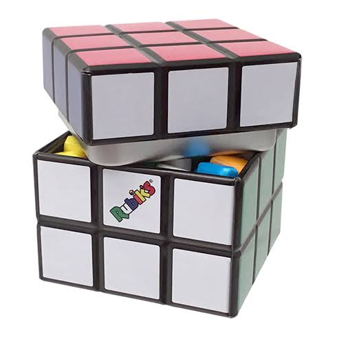 Rubik's Cube Candy Tin