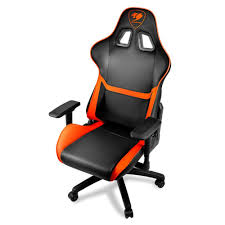 Arozzi Gaming Chair Frys by Cougar Armor Comfortable Gaming Chair Orange Black Ergonomic