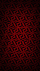 Minimalistic pattern red love iPhone 5s Wallpaper Download