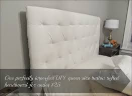 Diamond Tufted Headboard With Crystal Buttons by Bedroom White Velvet Tufted Bed Nailhead Trim Headboard Tufted
