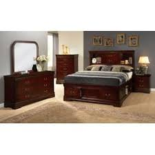 louis phillipe queen sleigh bed set