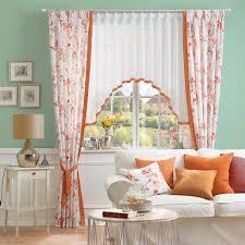 vorhang mit passender gardine für ihr wohnzimmer fenster