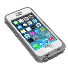 Nuud Case for iPhone 5S White Grey