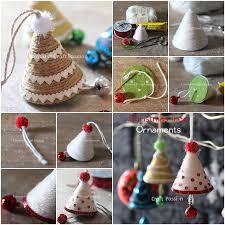 Wonderful DIY Cute Yarn Christmas Tree Ornaments