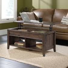 coffee tables double lift top coffee table sauder carson forge