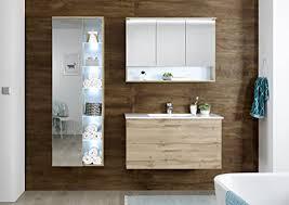 moebel guenstig24 de badmöbel best 3 tlg badezimmer set badmöbel badezimmermöbel wildeiche beleuchtung